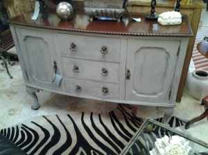 "Maison Blanche ""La Craie"" Chalk Based paint project after - at Luxury For Less in Ponte Vedra 904-285-1986"