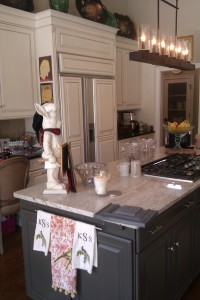 A beautiful kitchen painted by Dwayne Sears of Luxury For Less in Ponte Vedra 904-285-1986
