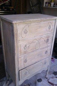 Dwayne's Fingerpainting Dresser